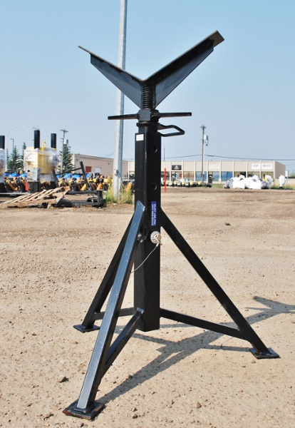 pipe welding stand