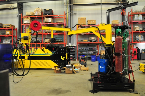 reach for the MIG Welding jib mount boom